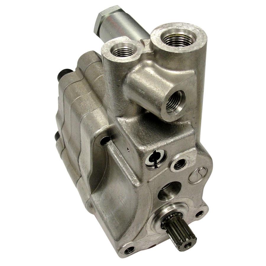 Dual Shaft Hydraulic Motor : Massey ferguson hydraulic pump spline shaft