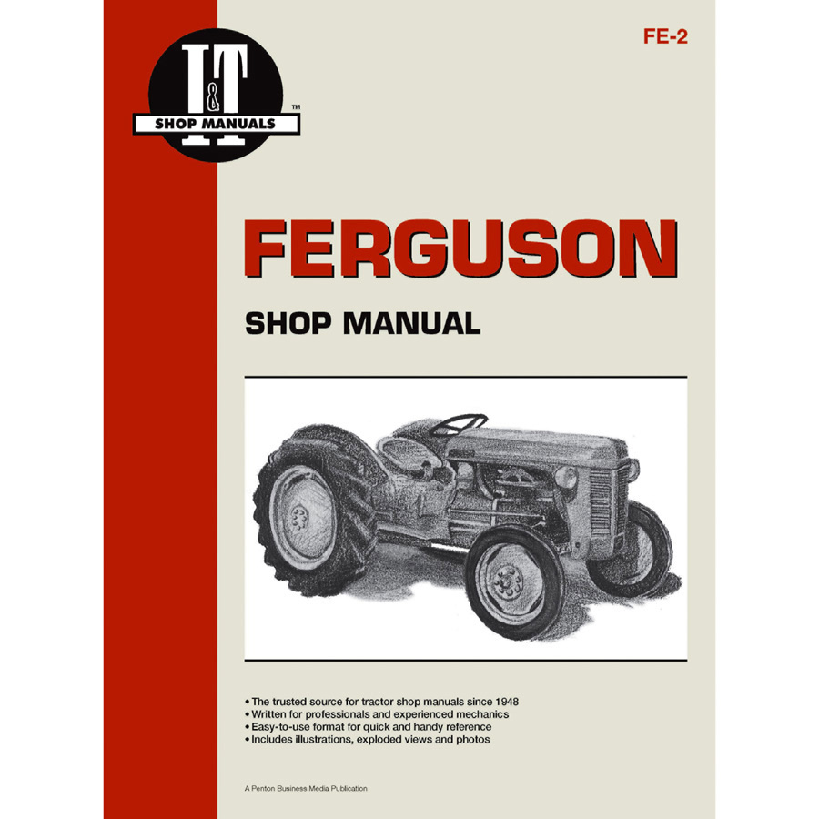 1215 1003 massey ferguson service manual 32 pages includes wiring diagrams for te 20 and to