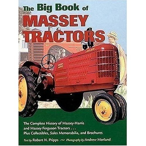 Massey Ferguson Tractors Parts Catalog : A big book of massey tractors complete