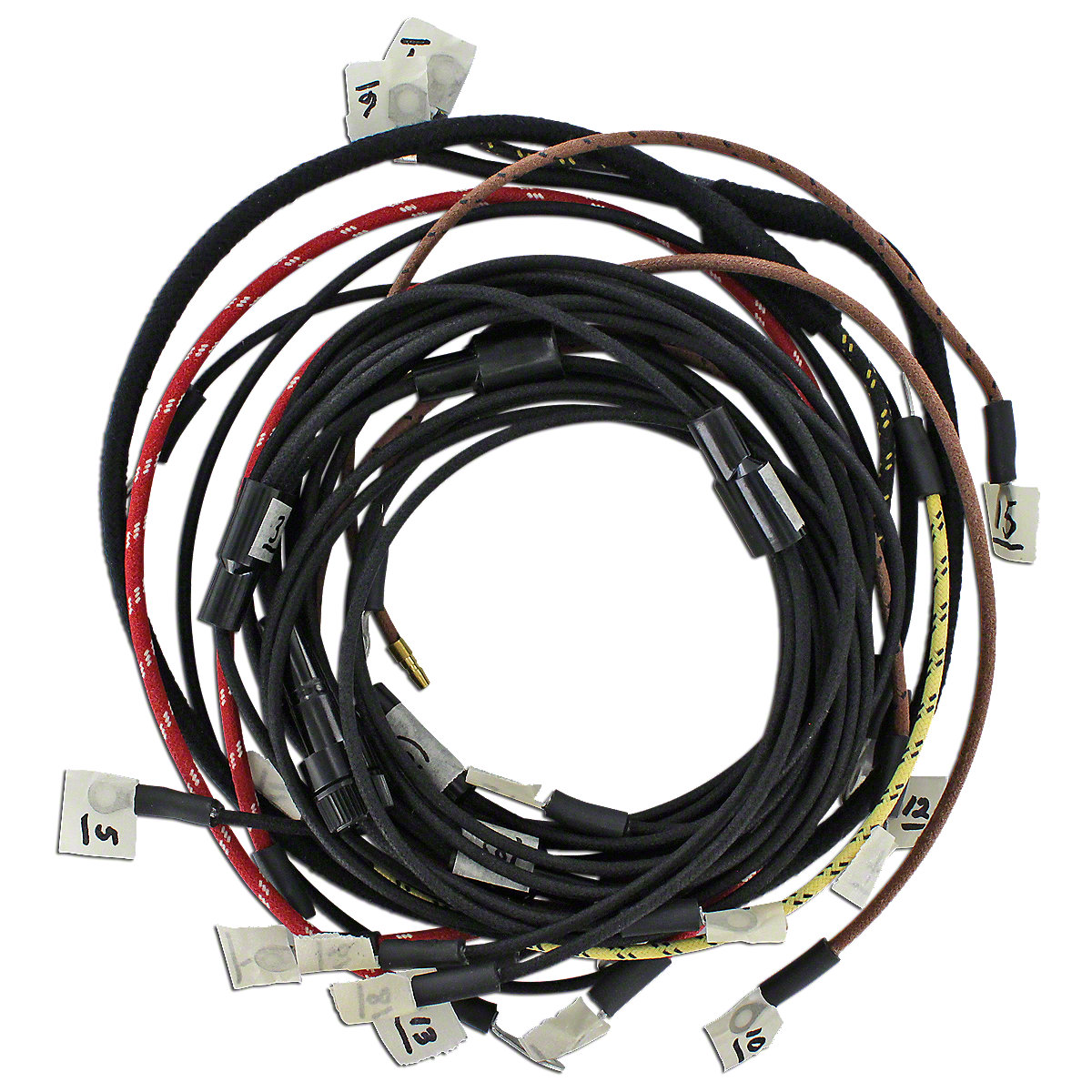 wiring harness for massey ferguson f40 65 50. Black Bedroom Furniture Sets. Home Design Ideas
