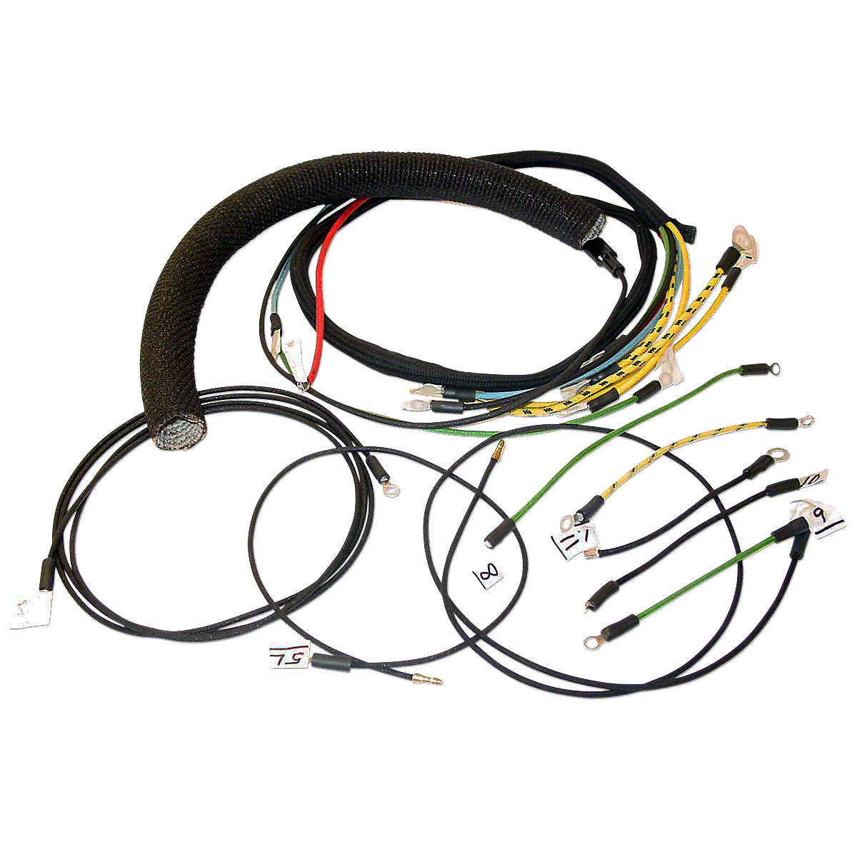 mhs063 wiring harness for massey harris pony massey ferguson parts
