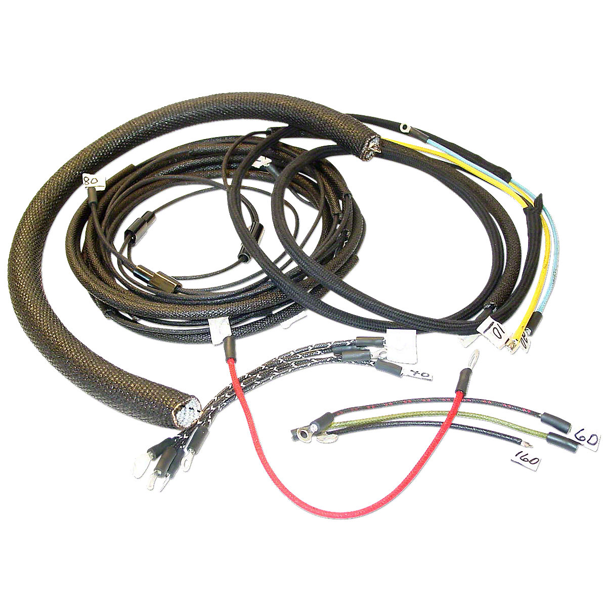mhs065 wiring harness for massey harris 30 30k massey ferguson parts