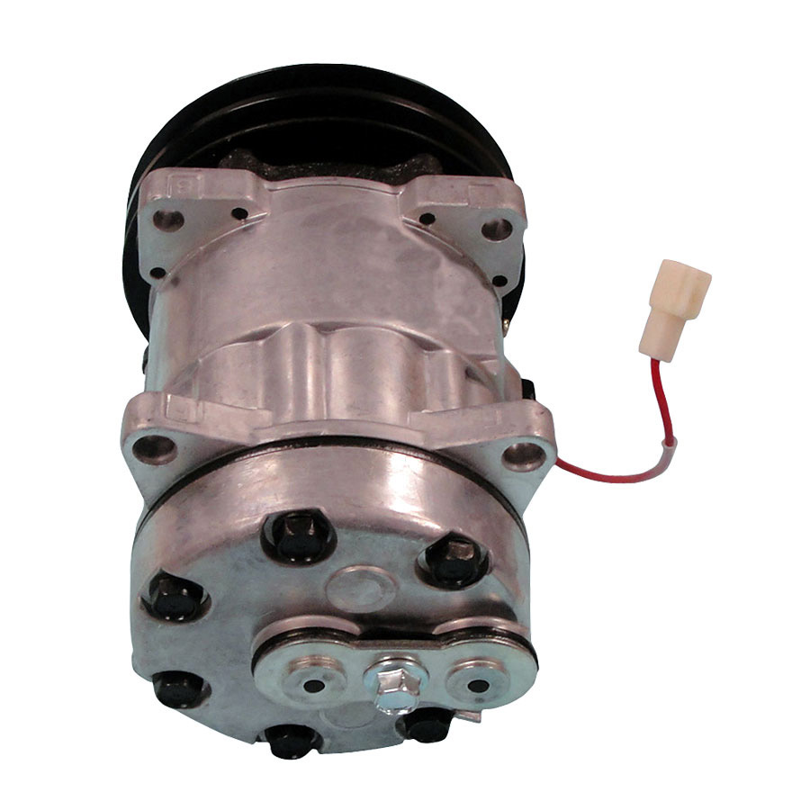 Massey-Ferguson AC Compressor Diameter: 5 1/2( 132mm) Voltage: 12