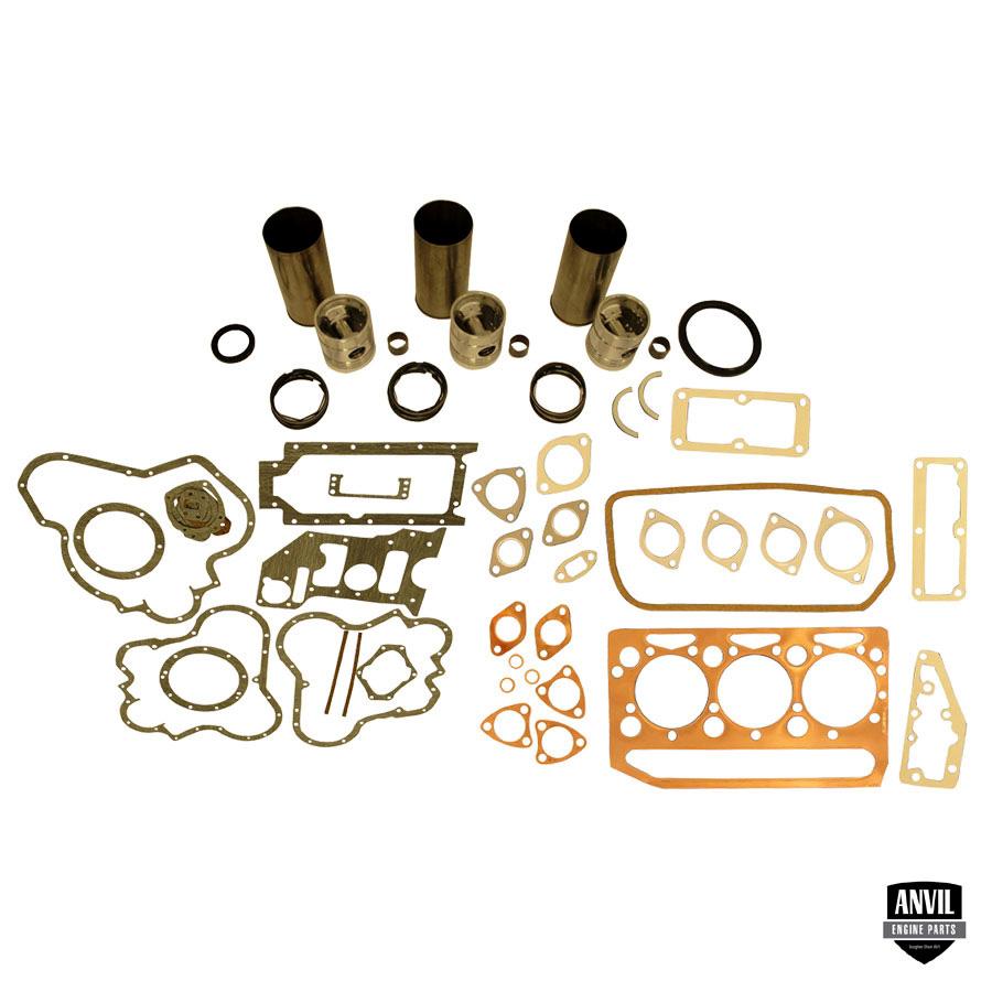 Massey-Ferguson Engine Base Kit Base Engine Kit: Includes Standard Pistons W/rings