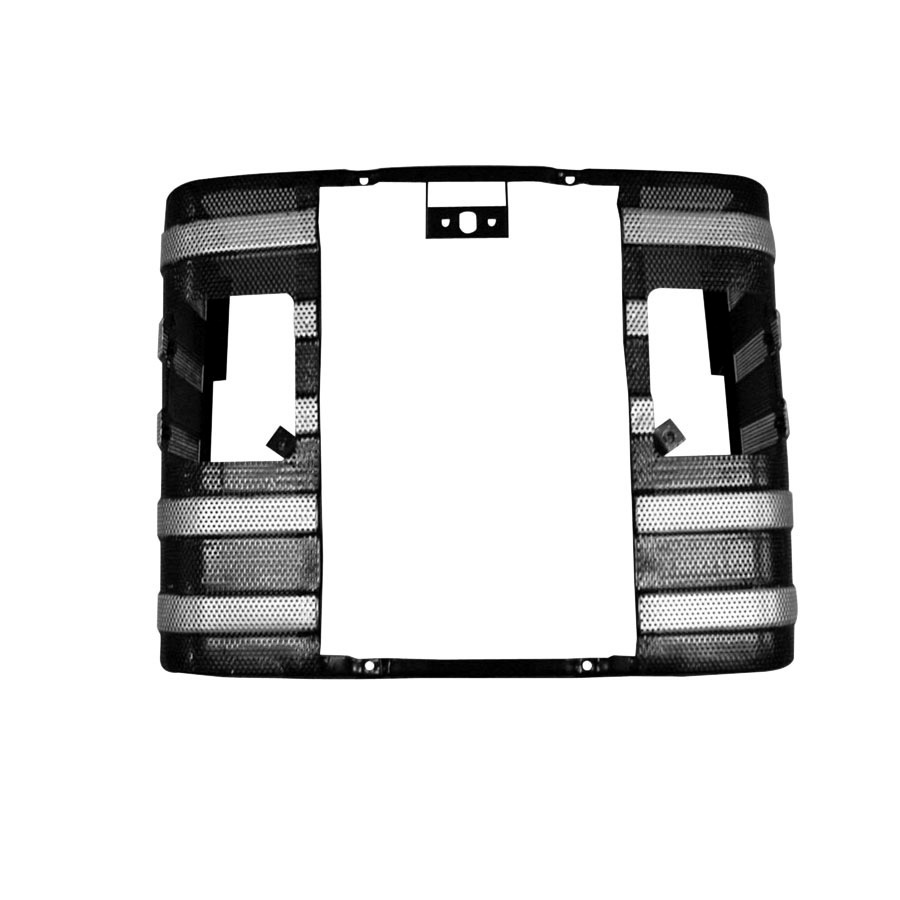 Massey-Ferguson Grill With Lamp Hole Uses Atlantic 897960M92 Center Grille Piece.