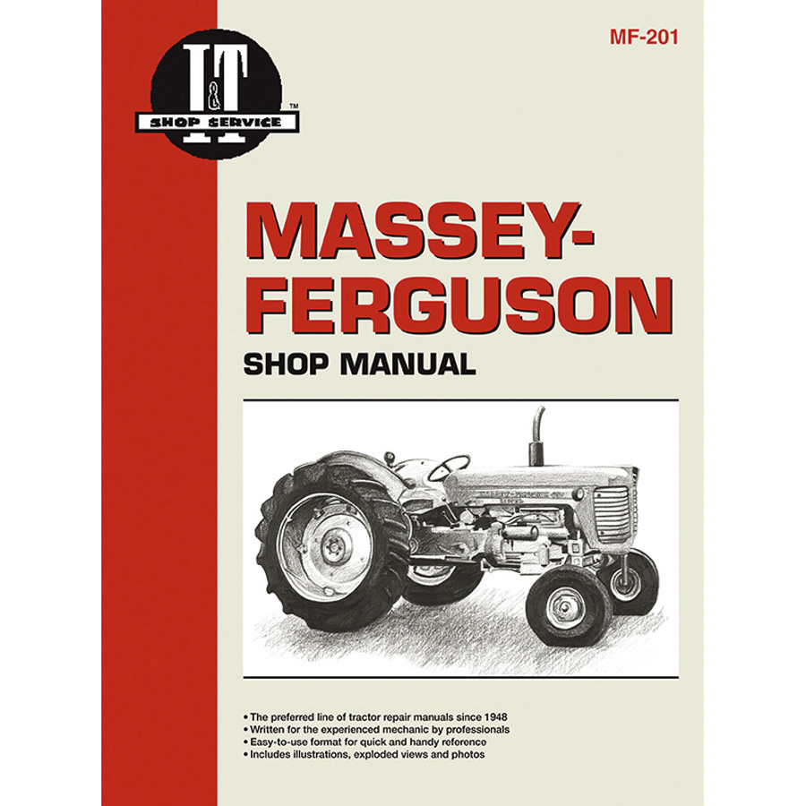 Massey-Ferguson Service Manual 104 Pages. Includes Wiring Diagrams For 1080
