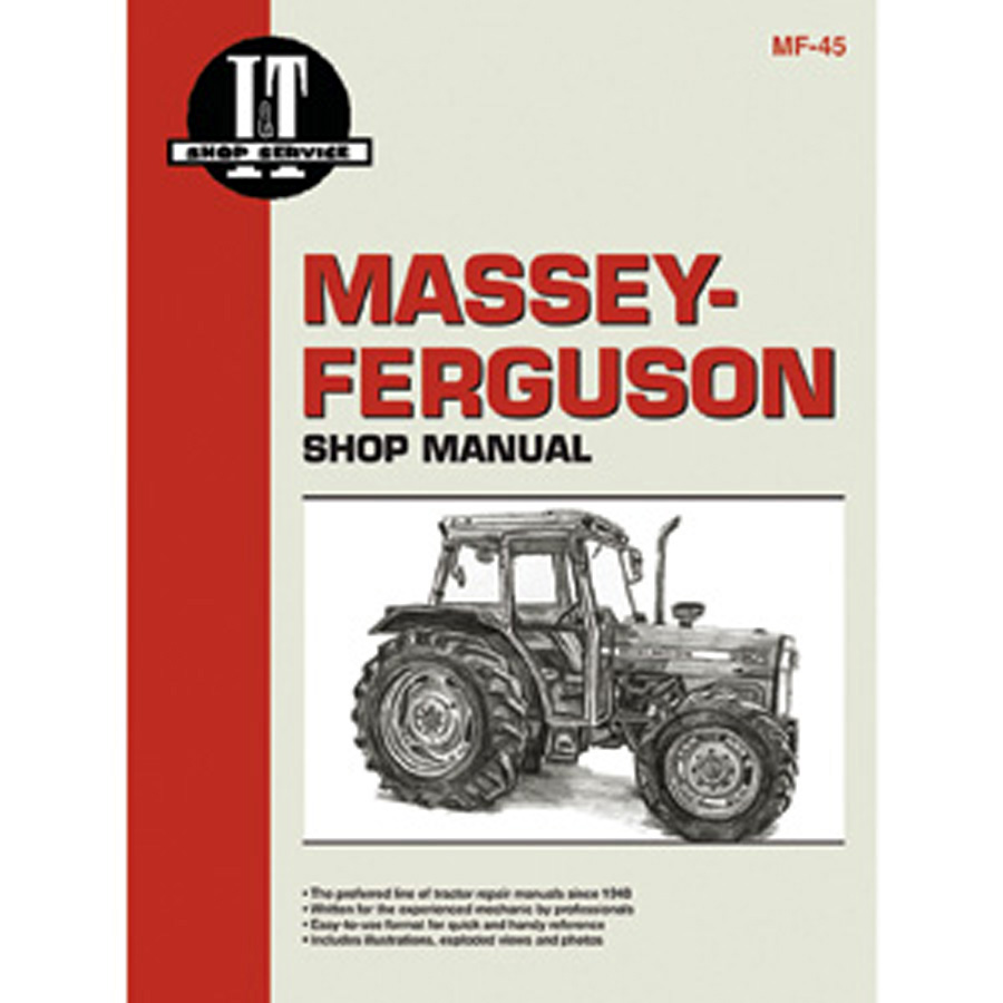 Massey-Ferguson Service Manual 184 Pages. Includes Wiring Diagrams For All  Models.