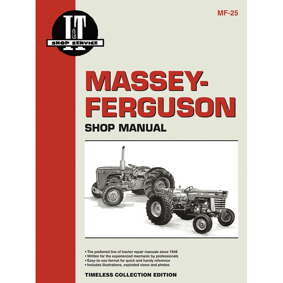 Massey-Ferguson Service Manual 36 Pages. Does Not Include Wiring Diagrams.