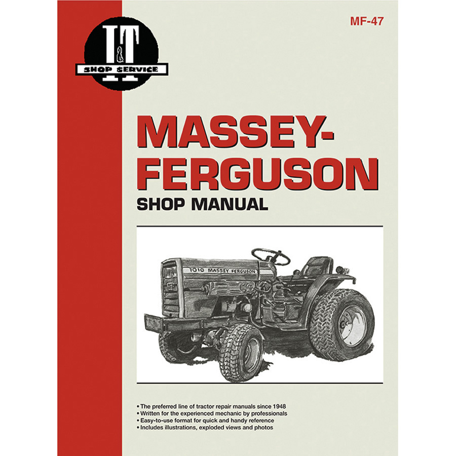 1948 Ferguson Tractor Wiring Diagram Library Antique Diagrams Massey Service Manual 104 Pages Includes For All Models