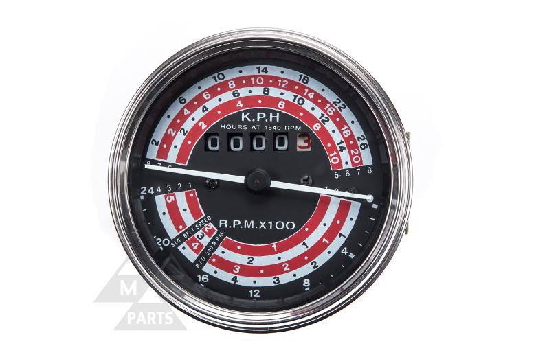 Gauge - Tachometer - Massey Ferguson 100 Series -  165, 175, 178, 180