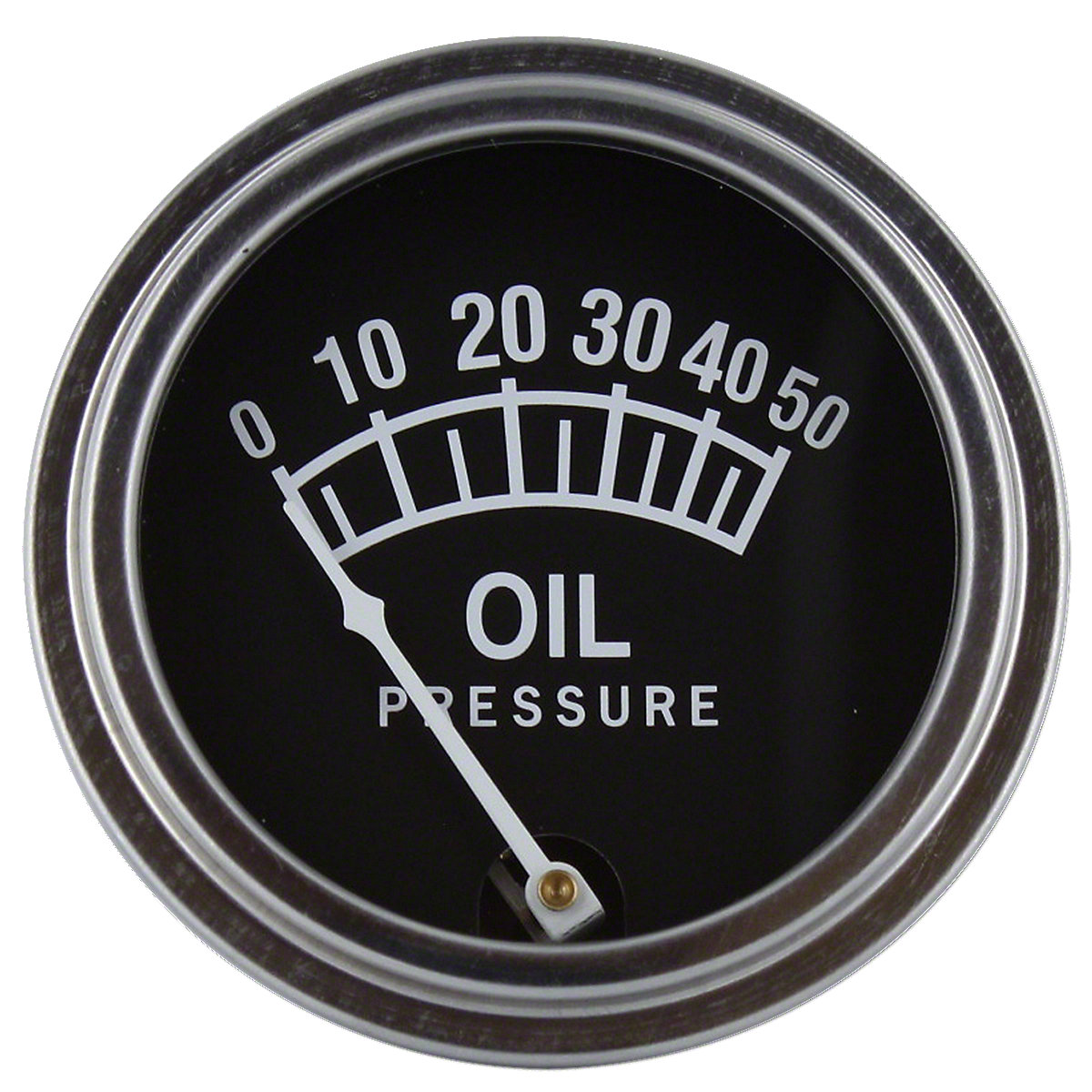 0-50 PSI Oil Pressure Gauge For Massey Ferguson: Super 90, 35, 50, 65, 85, 88, 135, 150, 165, 202, 204, 406, 2135, 2200, 2500, 3165, 95, 97, F40, TE20, TEA20-85, TO20, TO30, TO35, Massey Harris: Colt 21, Mustang 23, Pacer 16, Pony, 101 jr, 101 sr, 102 jr,