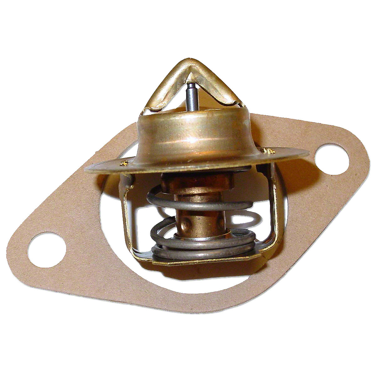 160 Degree Thermostat And Gasket For Massey Ferguson:  35, 50, 65, 135, 150, 165, 175, 180, 40, TO35, 50, Massey Harris: Colt 21, 20, 22, 50.