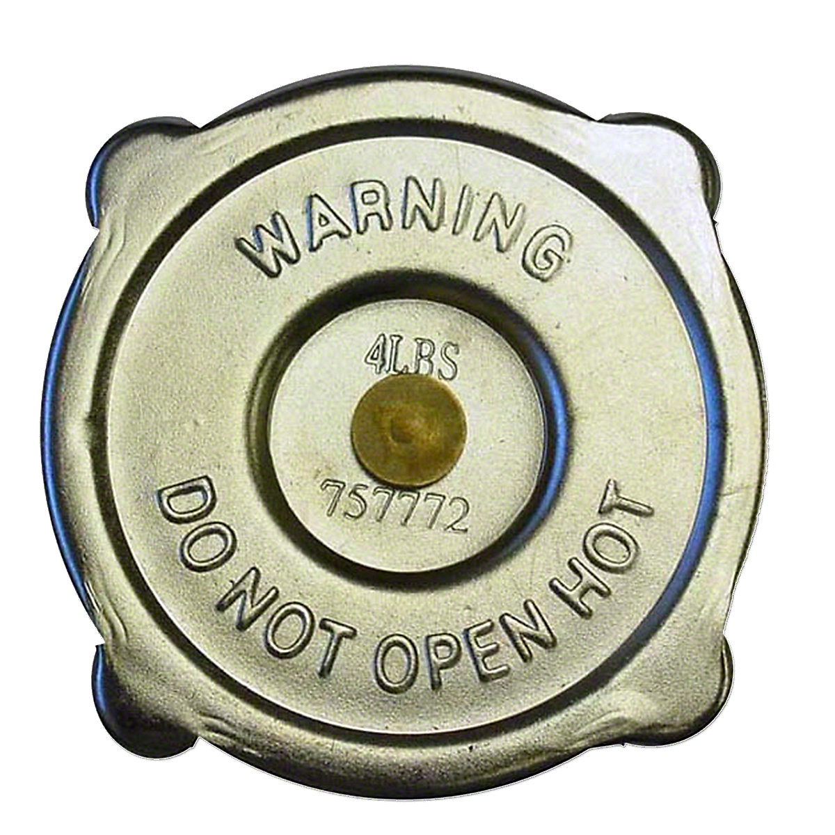 Radiator Cap For Massey Harris: 101 Jr, 101 Sr, 102 Jr, 102 Sr, 30, 33, 44, 55, 333, 333K, 33K, 44 Special, 44-6, 444, 444K, 44K, 555, 555K, 55K.