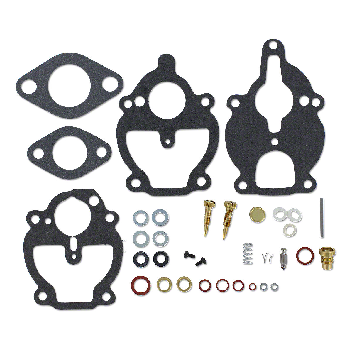 Zenith Economy Carburetor Kit For Massey Ferguson: 135, 230, TE20, TO20, TO30.