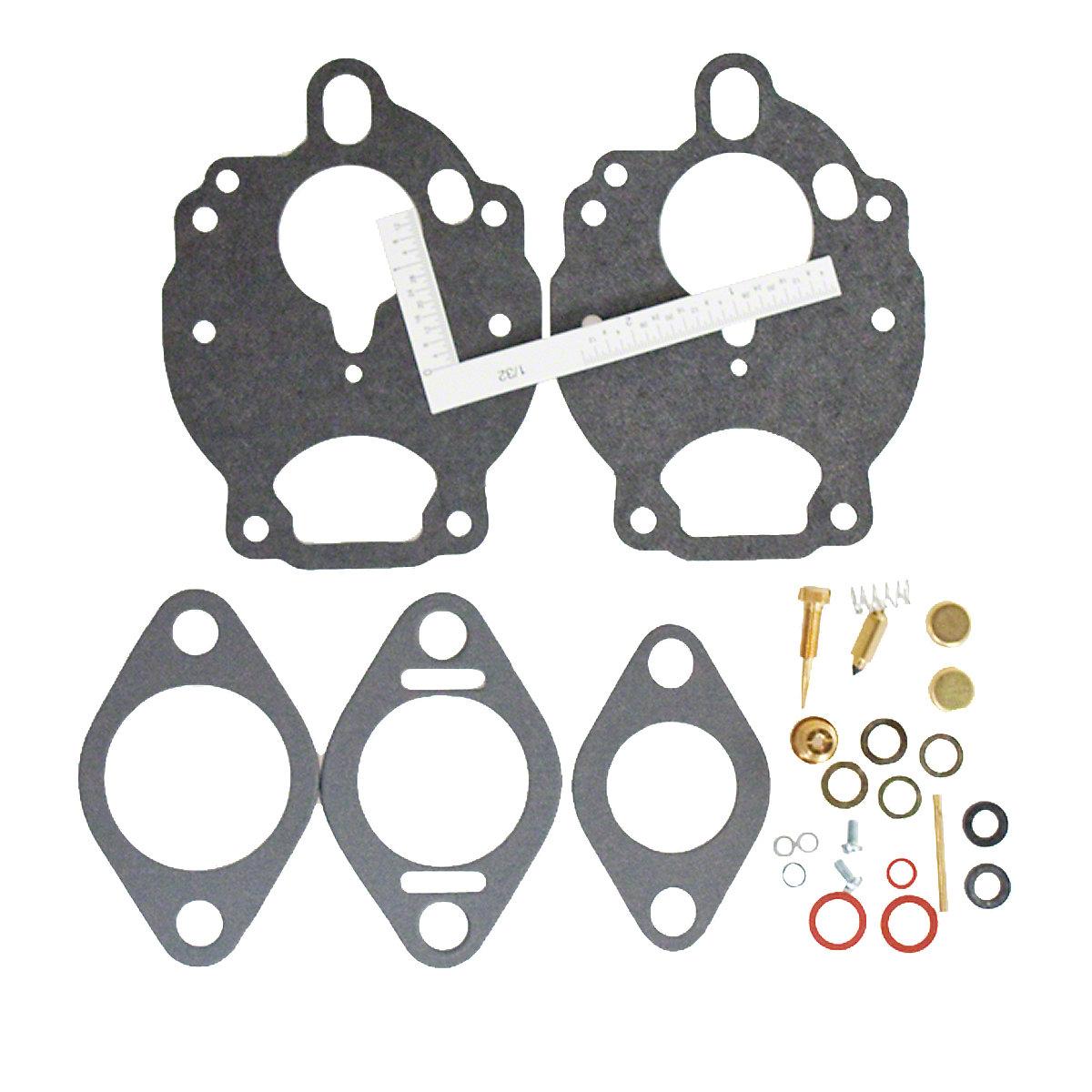 Zenith Economy Carburetor Kit For Massey Ferguson: 135, 165, 175, 180, 235, 255, 265, 65, 245.