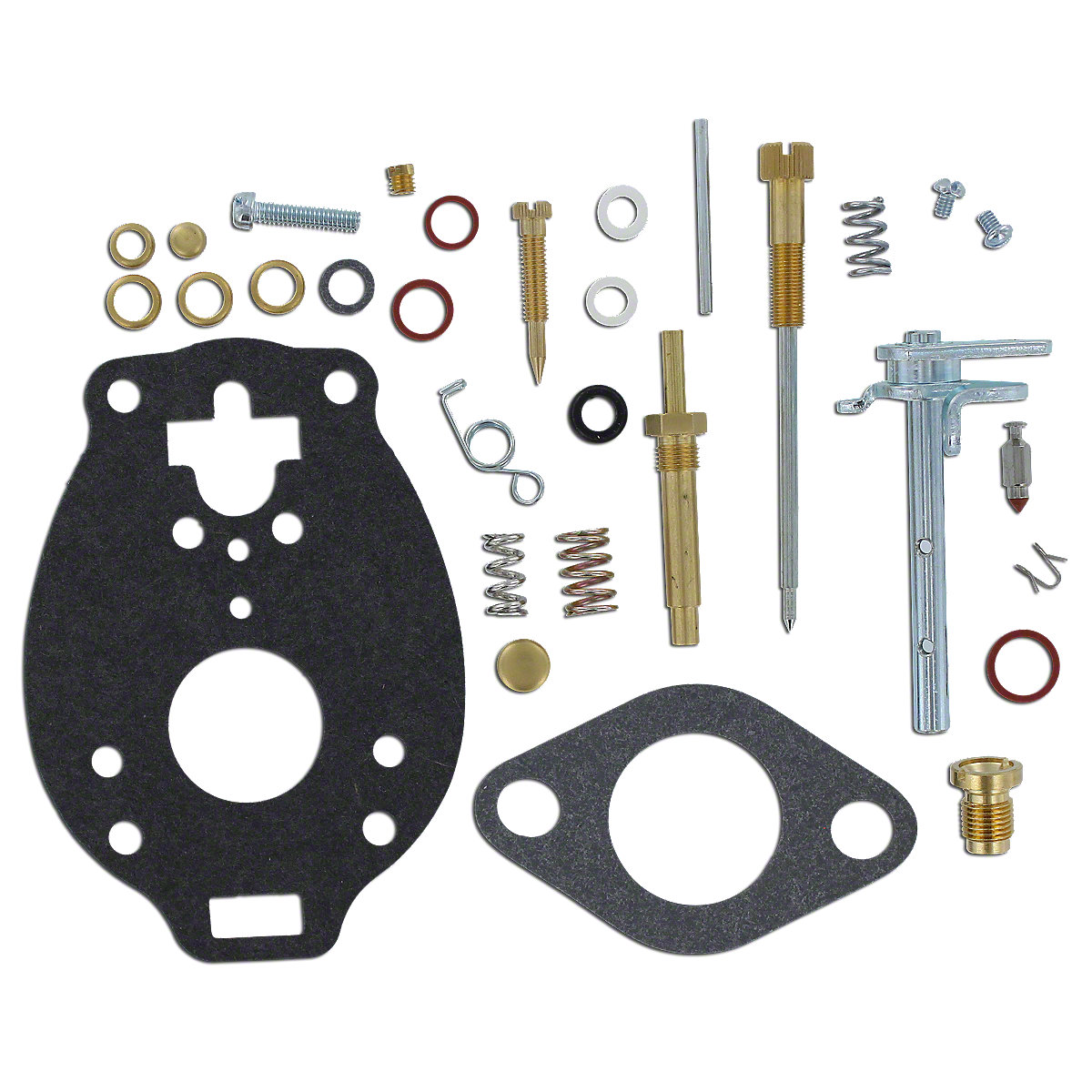 Marvel Schebler Basic Carburetor Kit For Massey Ferguson: 35, 40, 50, 135, 150, TO35, Massey Harris: 50