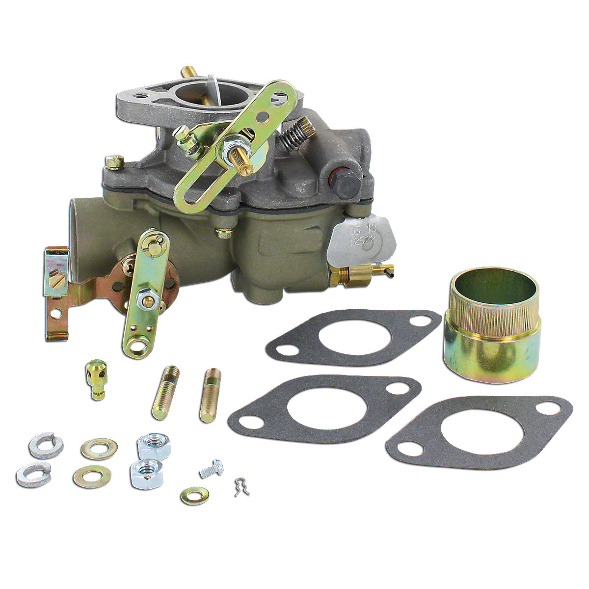 New Zenith Universal Replacement Carburetor For Massey Ferguson: TO20, 30, 81, 82, And Some Massey Harris Tractors.