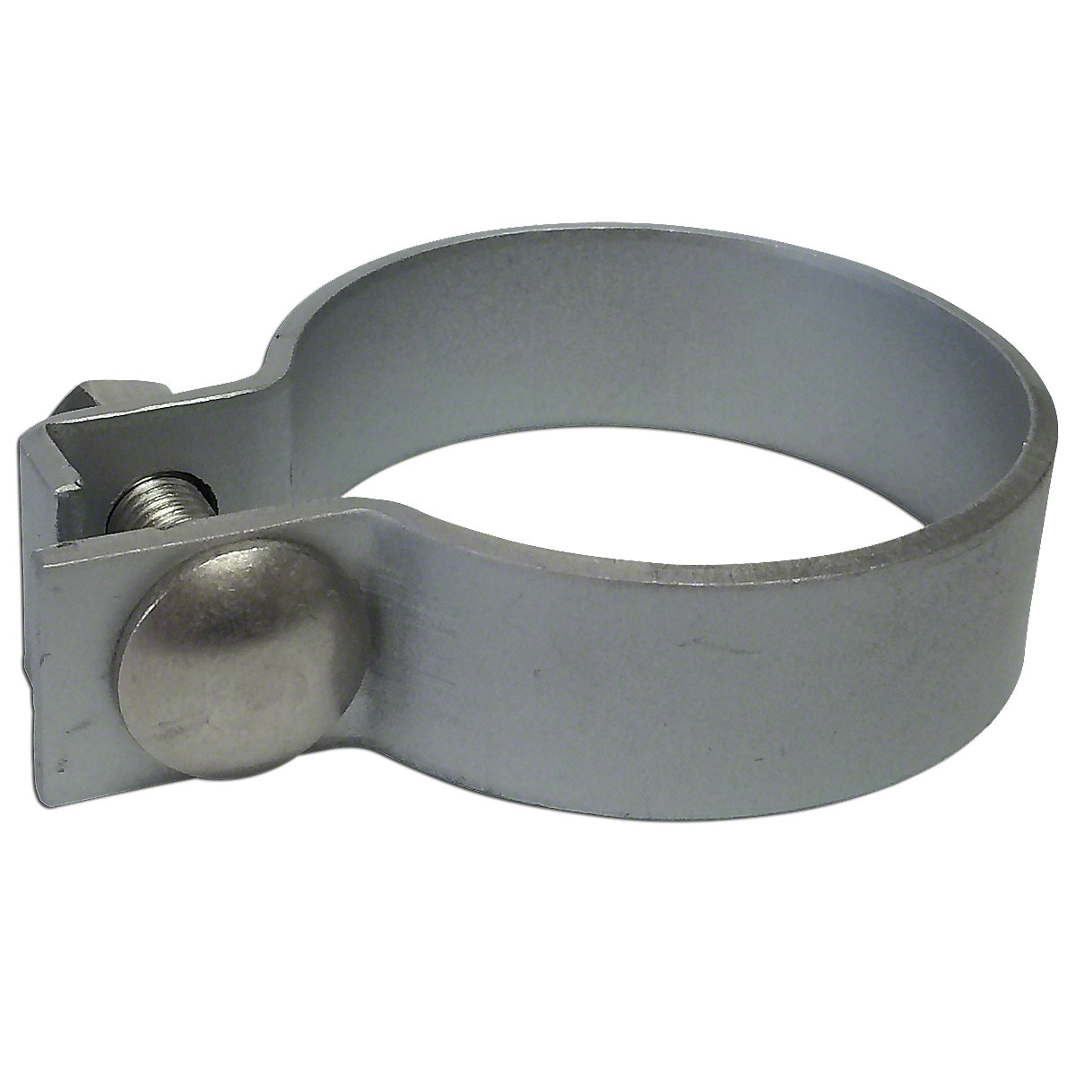 2-1/2 Painted Steel Muffler Clamp For Massey Harris: Challenger, Colt 21, GP 4WD, Mustang 23, Pacemaker, Pacer 16, Pony, 101 Jr, 101 Sr, 102 Jr, 102 Sr, 20, 22, 30, 33, 44, 50, 55, 81, 82, 201, 202, 203, 303, 333, 404, 444, 555, 20k, 22k, 30k, 44 Special