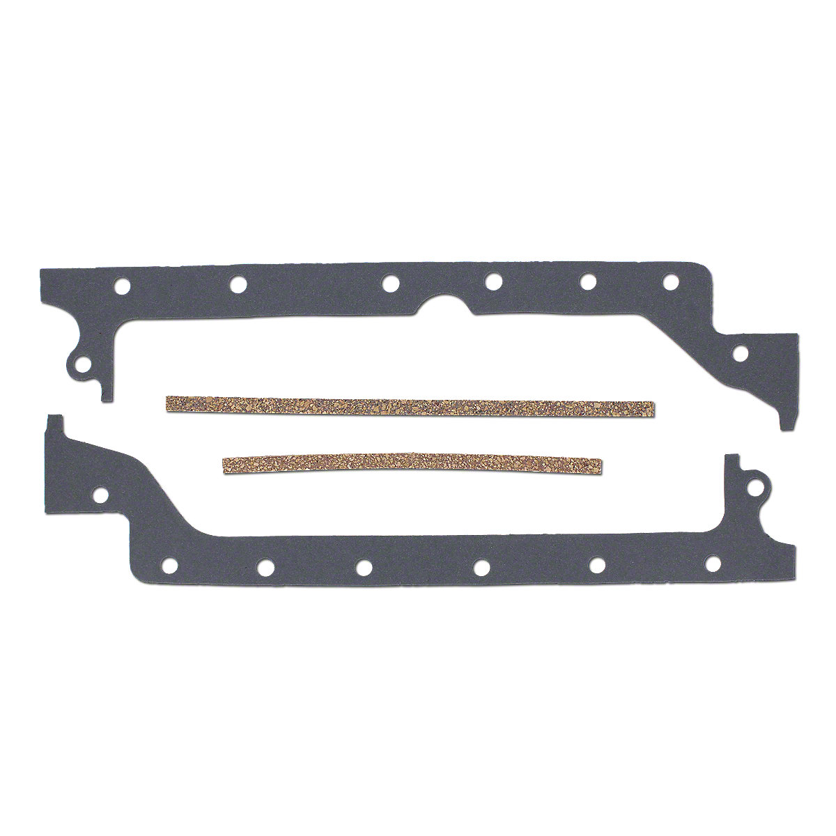 Oil Pan Gasket For Massey Ferguson: Fits: 35, MF35, MF35 Turf, MF35X, 50, 133, 135, 148, 150, 154, 154-4, 230, 231, 233, 235, 240, 240.