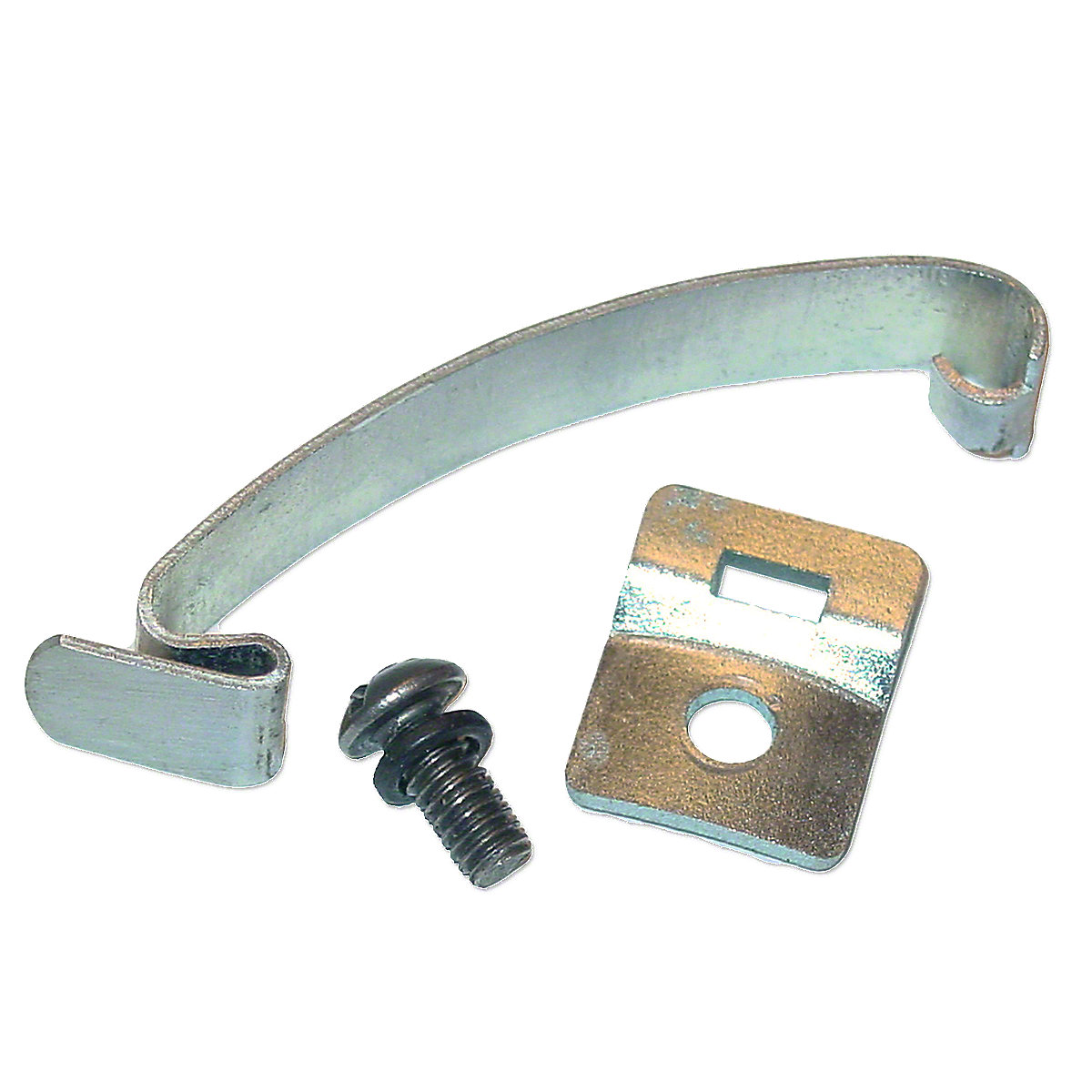 Delco Style Spring Clip With Shorter Bracket For Massey Ferguson: Super 90, 85, 88, 40, F40, TO20, TO30, TO35, 50, Massey Harris: 50.