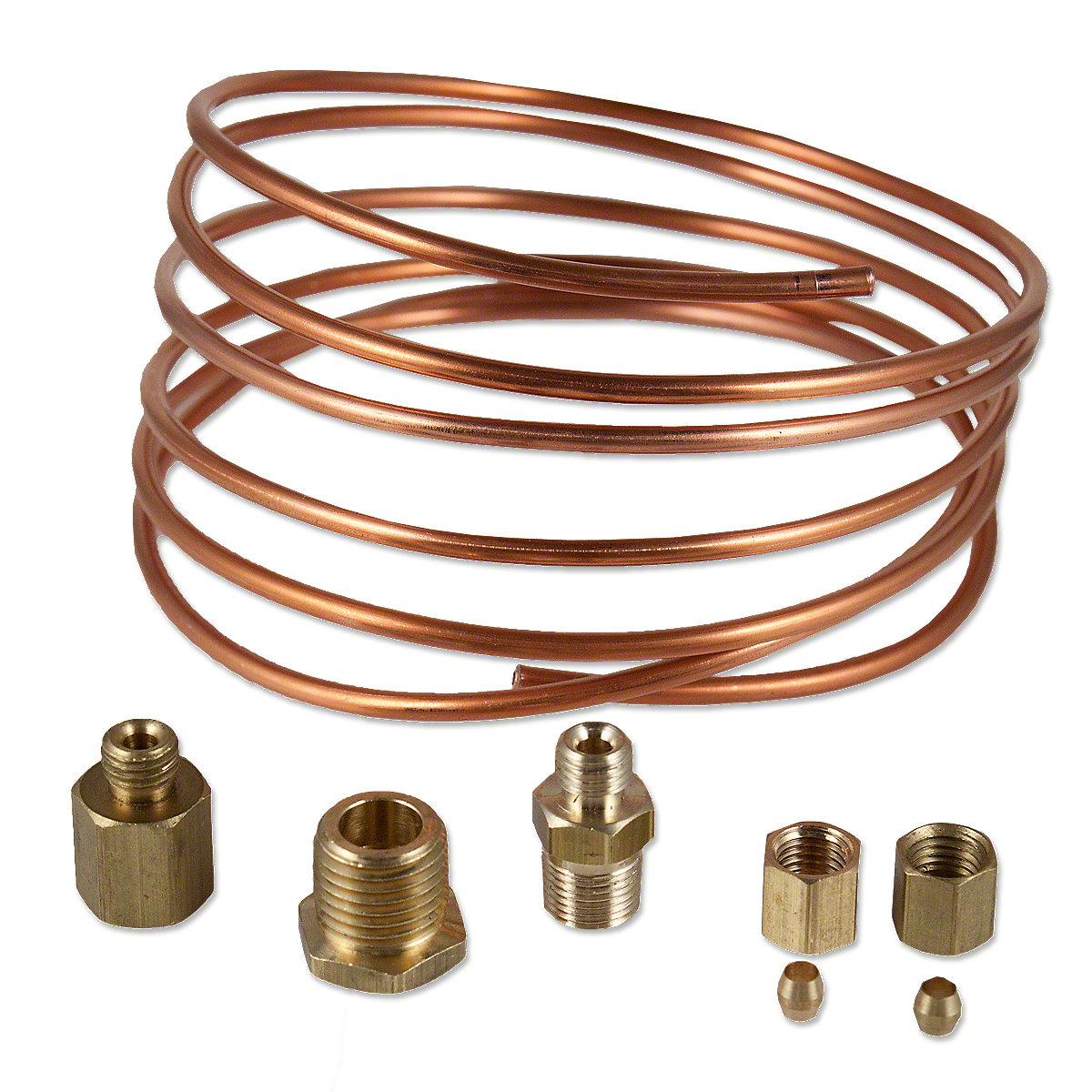 Oil Pressure Copper Line Kit For Massey Ferguson And Massey Harris Tractors.