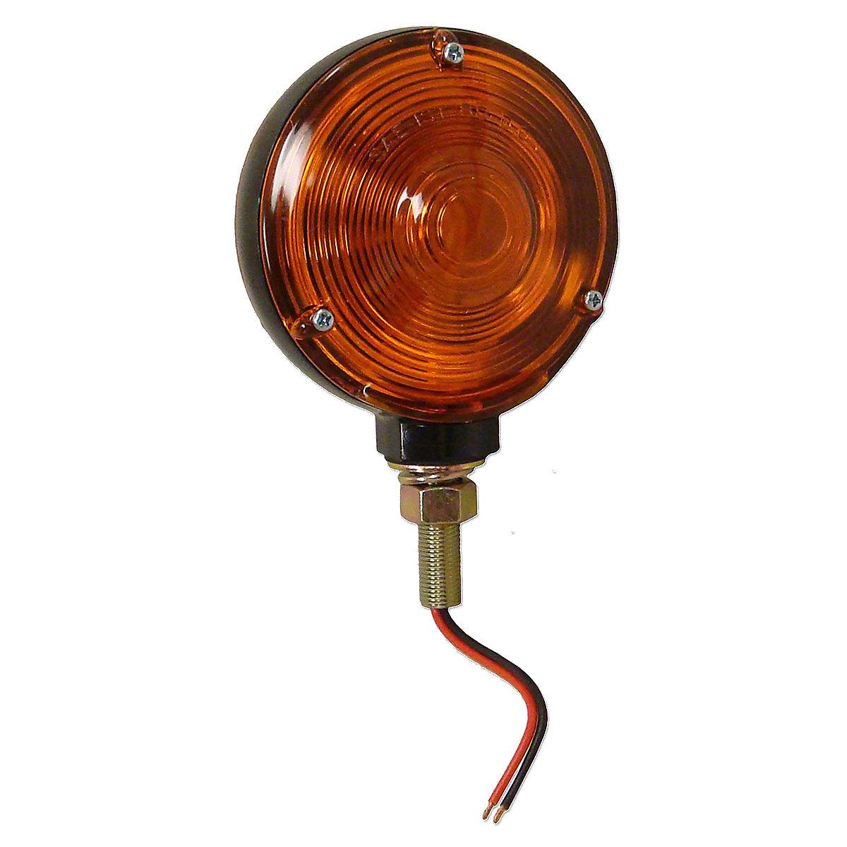 Round Fender Or Cab Mount Warning Light For Massey Ferguson: 1080, 1085, 1100, 1105, 1130, 1135, 1150, 1155, 135, 150, 165, 175, 180, 230, 235, 240, 245, 250, 255, 265, 270, 275, 285, 298, 670, 698, 699.