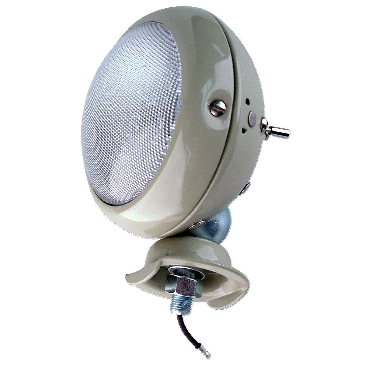 6 Volt Work Light Assembly For Massey Ferguson: TE20, TO20, TO30.