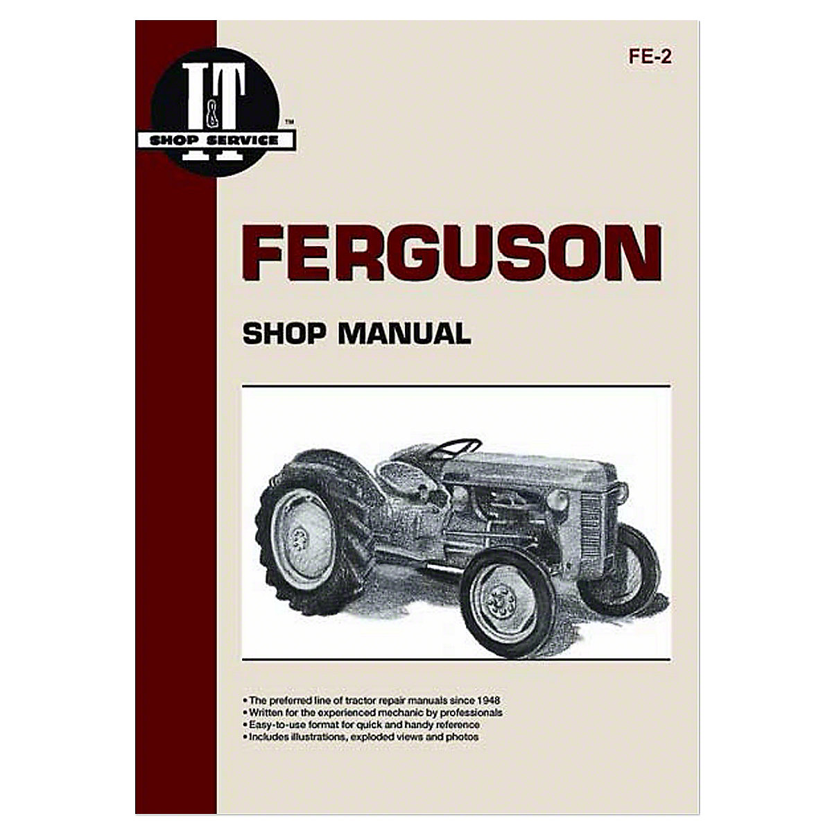 I&T Shop Service Manual For Massey Ferguson: TE20, TO20, TO30.