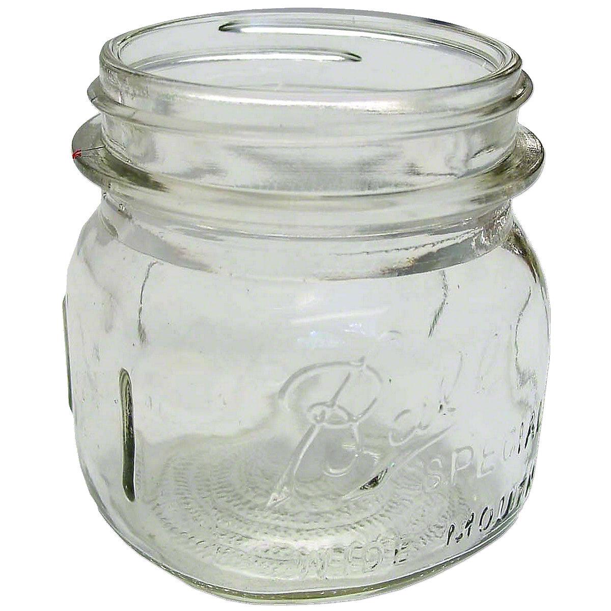 Glass Jar For Pre-Cleaner For Massey Harris: Colt 21, Mustang 23, 101 Jr, 102 Jr, 20, 22, 22k, 30, 30k, 33, 44, 44 Special, 44-6, 81, 82.