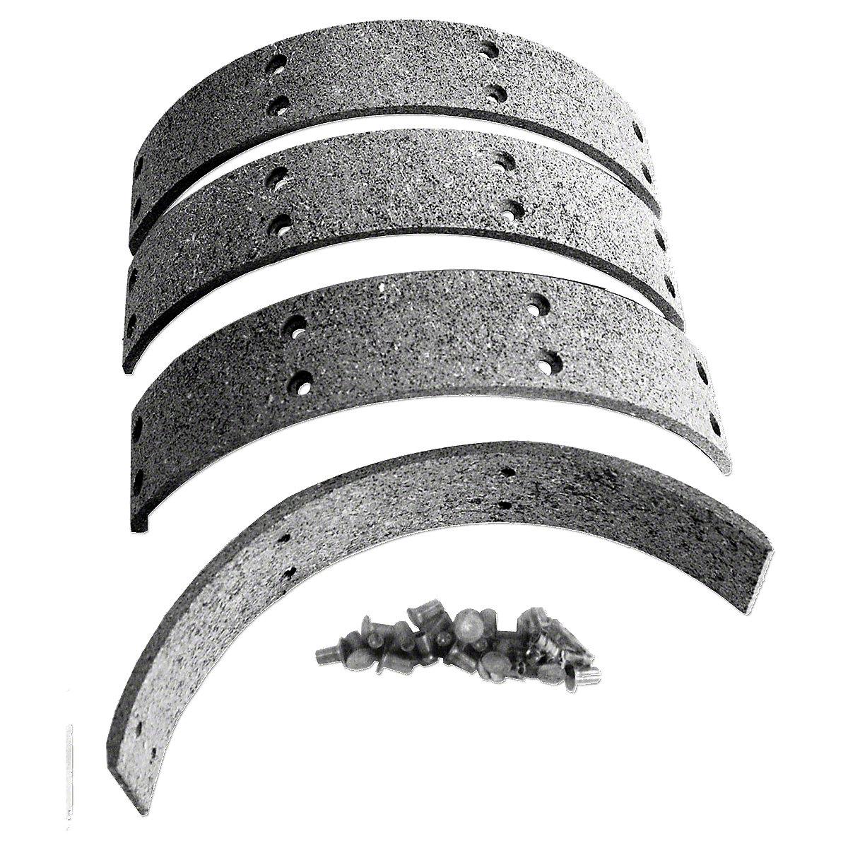 Brake Lining Kit For Massey Harris: 101 Sr, 102 Sr, 44, 44-6.