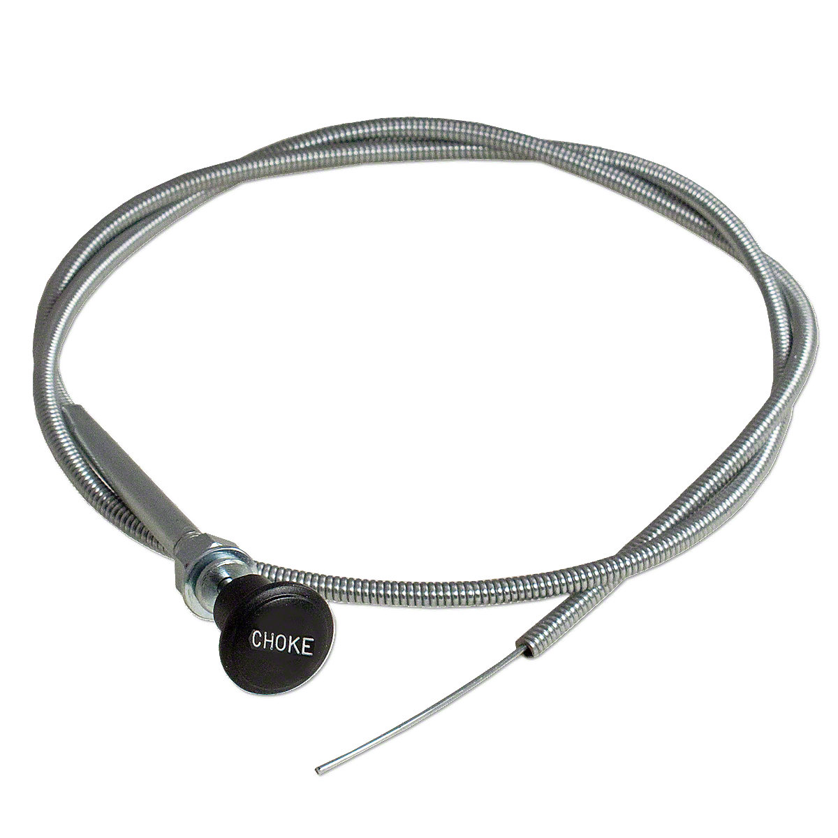 Universal Metal Sheathed Choke Cable For Massey Harris And Massey Ferguson Tractors.