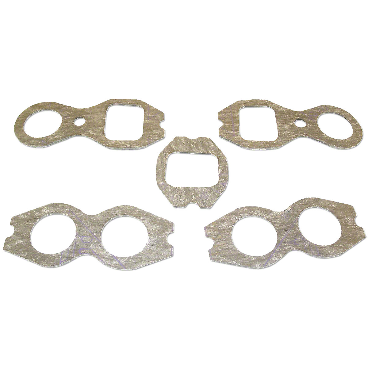 Intake and Exhaust Manifold Gasket Set For Massey Ferguson: 1100.