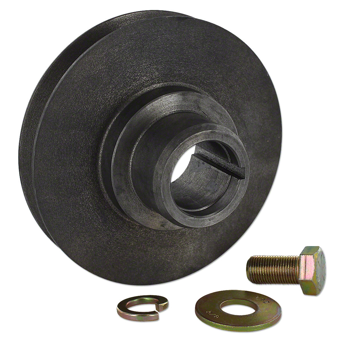 Front Crank Shaft Pulley For Massey Ferguson: TE20, TO20, TO30.
