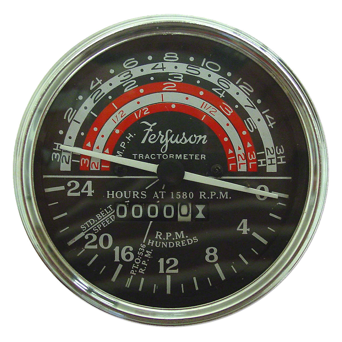Tachometer For Massey Ferguson: TO35, Massey Harris: 50.