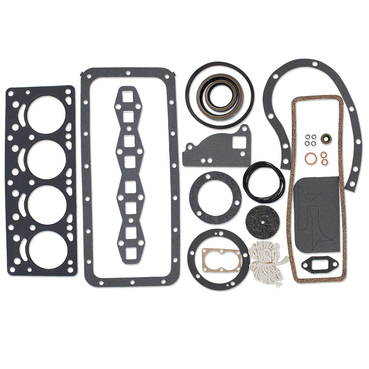 Complete Engine Gasket Set For Massey Ferguson: TE20, TO20, TO30.