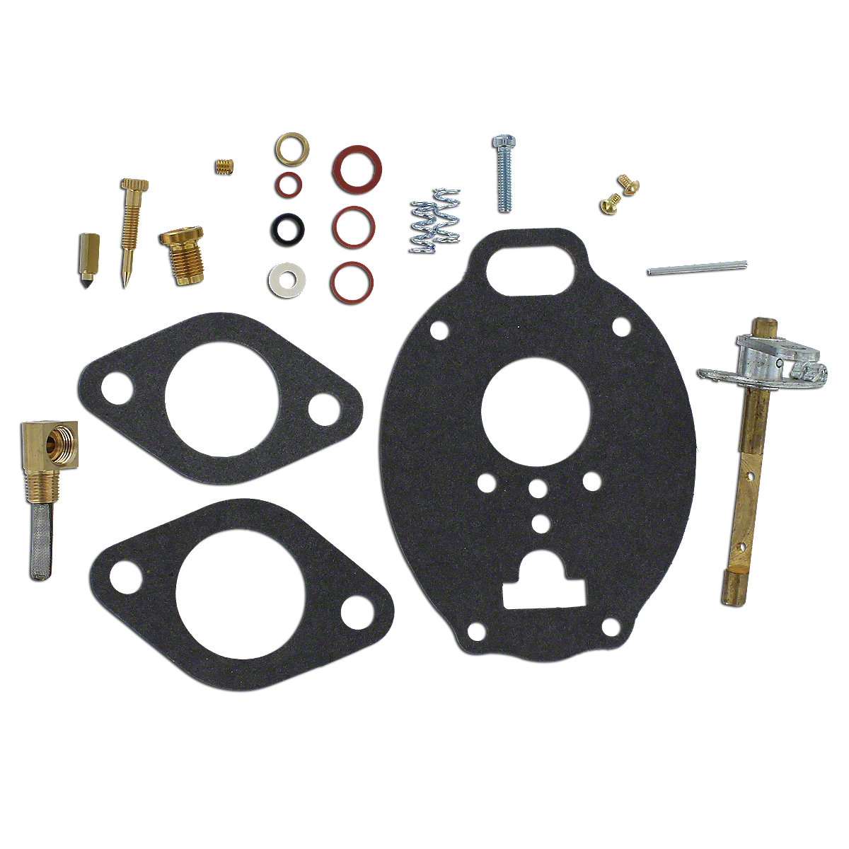 Marvel Schebler Basic Carburetor Kit For Massey Ferguson: 65, 165, 3165.
