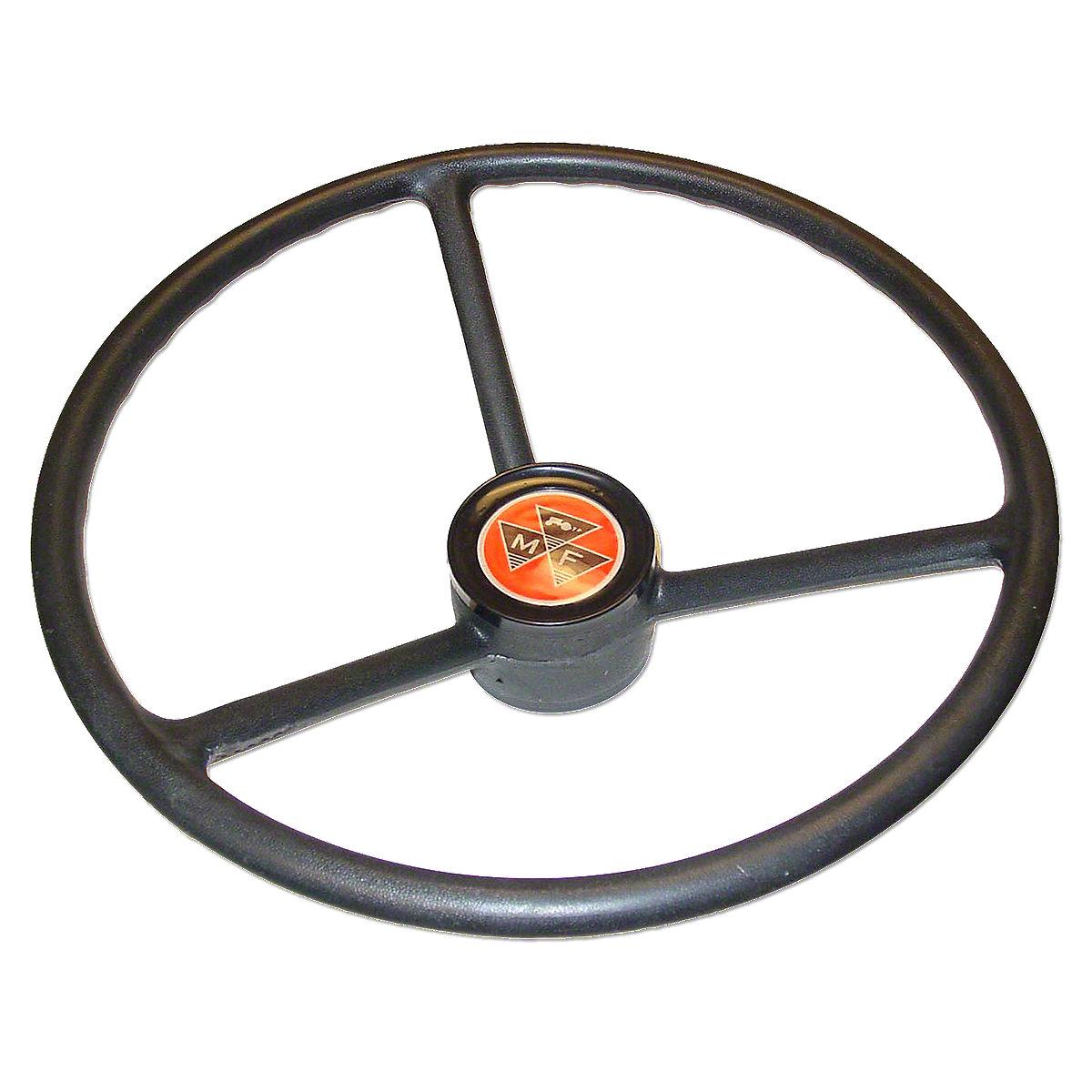 Massey Ferguson 175 Steering Parts : Mfs steering wheel with plastic center cap for massey
