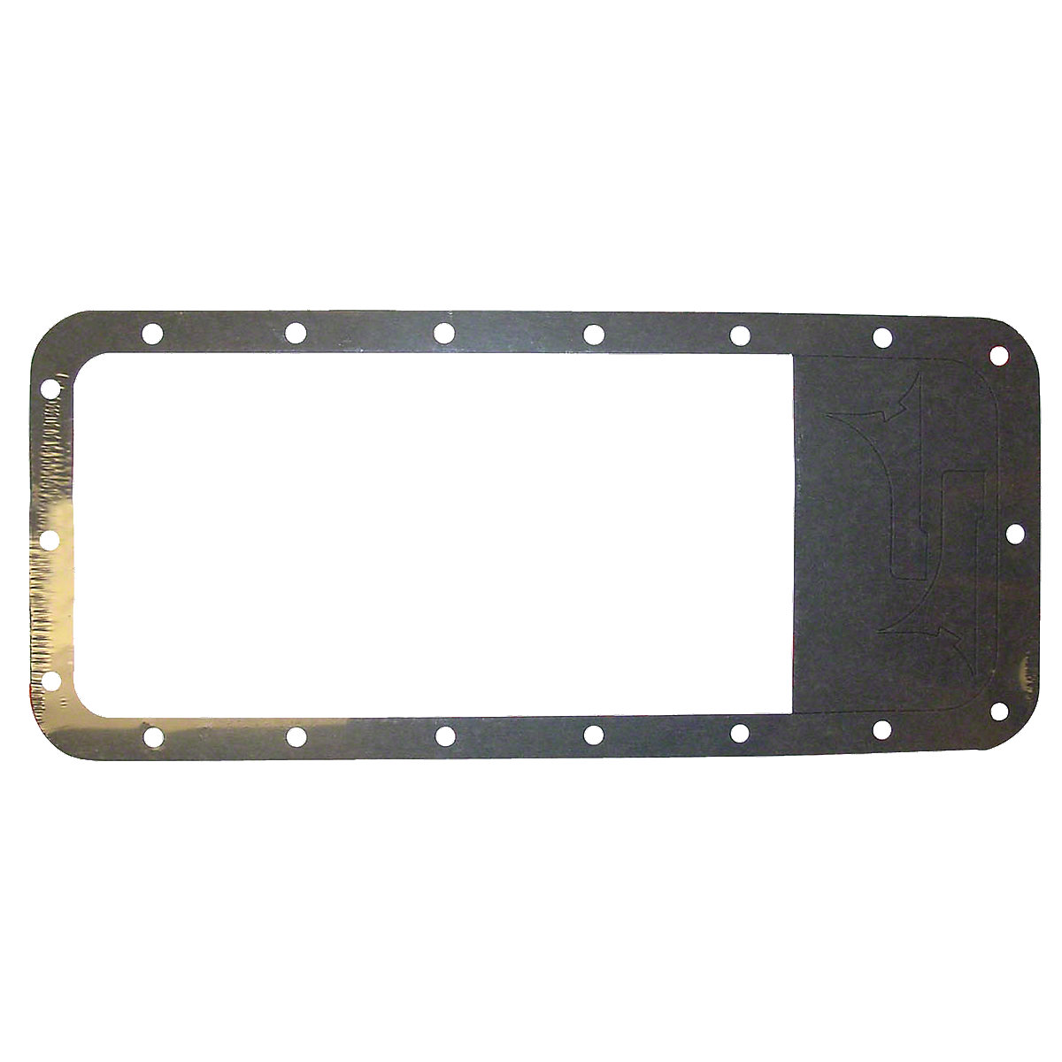 Oil Pan Gasket For Massey Ferguson: TE20, TO20, TO30, TO35, 135, 150, 202, 204, 20C, 230, 235, 245, 2135, 2200, 2500, 30B, 4500, 35, 40, 50.