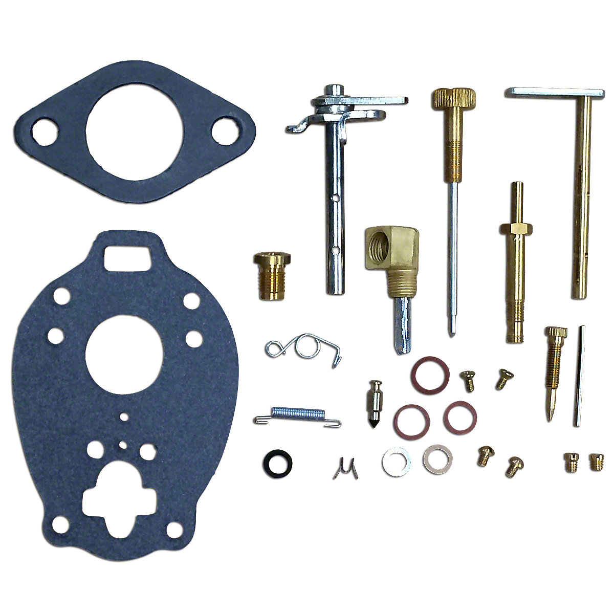 Marvel Schebler Complete Carburetor Kit For Massey Ferguson: TE20, TO20.