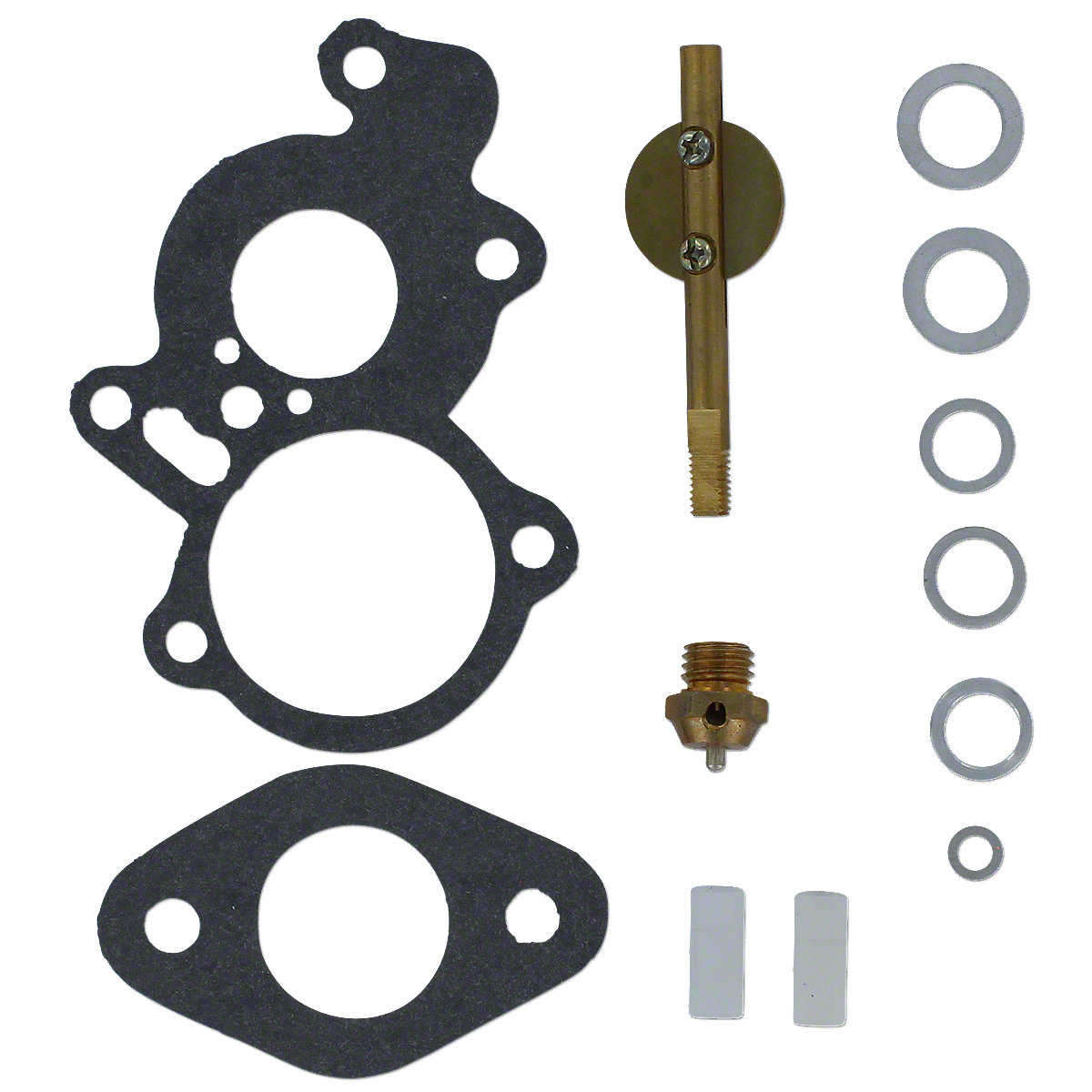 Basic Carburetor Kit For Massey Ferguson:  TEA20 (with British Zenith Carburetor (80 And 85 M.m. Engines)); Replaces: British Zenith Number: 24T2, 1201, 1264.
