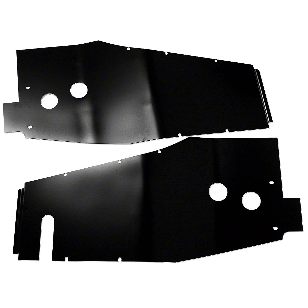 Side Shield Set For Massey Harris: Pacer 16, Pony SN#: 3117 And Up.