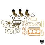 Base Engine Kit: Includes standard pistons w/rings, liners .043, complete gasket set with front and rear crank seals (Lip and Rope) and connecting rod bushings. Rod or main bearings can be added separately. Please indicate the rod and main bearing sizes required when adding to Base Engine Kit. Base engine kit for diesel applications. Part Reference Numbers: 3639047M1;68502;81874 Fits Models: 203 INDUST/CONST; 205; 35; 50 LOADER; A3.152 W/.043 LINER