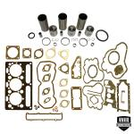 Base Engine Kit: Includes standard pistons (4 Ring) w/rings, liners, complete gasket set with front and rear crank seals and connecting rod bushings. Rod or main bearings can be added separately. Please indicate the rod and main bearing sizes required when adding to Base Engine Kit. Base Engine Kit for diesel applications. Part Reference Numbers: B1100;U5MK0117 Fits Models: 135; 150; 1544; 160; 20 INDUST/CONST; 200 COMBINE; 200B CRAWLER; 20C INDUST/CONST; 20D INDUST/CONST; 20F INDUST/CONST; 2135 INDUST/CONST; 2200 LIFT TRUCK; 2244 CRAWLER; 230; 235 INDUST/CONST; 240; 245; 250 SKID STEER LOADER; 2500 LIFT TRUCK; 30B INDUST/CONST; 30E INDUST/CONST; 30H INDUST/CONST; 40; 4500 LIFT TRUCK; 6040