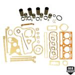 Base Engine Kit: Includes standard pistons w/rings, sleeves, complete gasket set with front and rear crank seals (Lip and Rope) and connecting rod bushings. Rod or main bearings can be added separately. Please indicate the rod and main bearing sizes required when adding to Base Engine Kit. Base engine kit for diesel applications. Part Reference Numbers: 3637428M91;U5MK0034 Fits Models: 165; 30 LOADER; 300; 302 INDUST/CONST; 304 INDUST/CONST; 3165 INDUST/CONST; 356 INDUST/CONST; 40B INDUST/CONST; 50 LOADER; 65; AD4.203 DIESEL ENG
