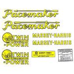 Mylar Decal Set For Massey Harris Pacemaker.