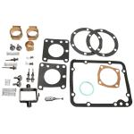 Basic Hydraulic Pump Rebuild Kit For Massey Ferguson: TE20 SN#: 83271 and Up, TEA20 Up to SN#: 285933, TO20, TO30 Does Not Include Valve Chamber O-Ring PN#: 195790m1 For TO30. Replaces PN#: Base Gasket (1): 181065M1, Cam Block (2): 181066M91, Side Gasket (2): 181067M1, Piston (2): 181068M1, Safety Valve (1): 181087M91, PTO Shaft Bushing (1): 181095M1, Side Plate Gasket (2): 181217M3, PTO Shaft Gasket (1): 181431M1, Sump Plug Gasket (1): 181468M1, Chamber Repair Kit (1): TO606, TO607.