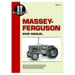 "I&T Shop Service Manual For Massey Ferguson: TO35 Gas 3 Cylinder. Diesel, 50 Gas 3 Cylinder. Diesel, ""202, 204, 35 Gas 3 Cylinder. Diesel, Massey Harris: 50 Gas 3 Cylinder. Diesel."