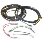 Wiring Harness For Massey Harris: 44 Rowcrop Gas and LP Tractor Up To SN#: 44gs16143, 44ks6607, 44gr28635, 44kr3984, 44gsa1001, 44gra1016, 44bs1001, 44br1001. All With Generator Mounted Voltage Regulators.